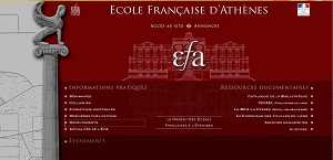 Recruitment for the École française d'Athènes