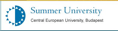 Call for Applications – Central European University's short summer courses in Budapest