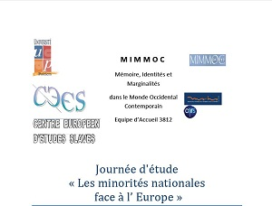 CFP: Les minorités nationales face à l'Europe