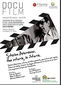 Proiezione: Ştefan Delureanu – una storia, la Storia