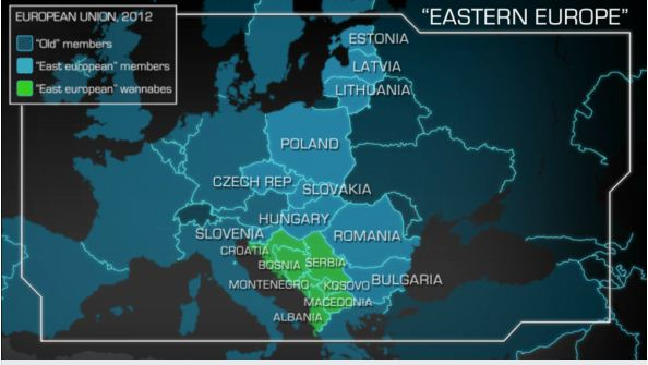 "Time to scrap ""Eastern Europe"""