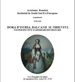 DORA D'ISTRIA, BALCANII ŞI ORIENTUL