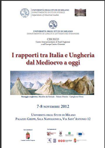 I rapporti tra Italia e Ungheria dal Medioevo a oggi
