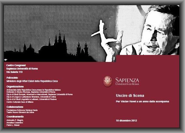 Convegno internazionale di studi per Václav Havel a un anno dalla scomparsa