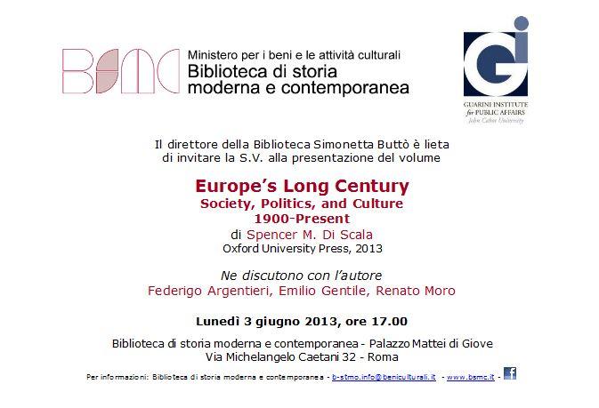 Europe's Long Century