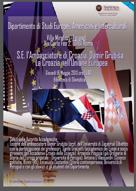 """""""La Croazia nell'Unione Europea"""""""