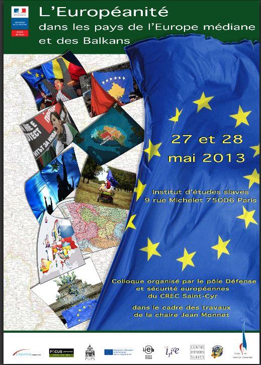 L'européanité dans les pays d'Europe médiane et dans les Balkans