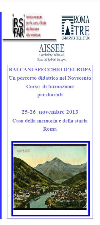 BALCANI SPECCHIO D'EUROPA