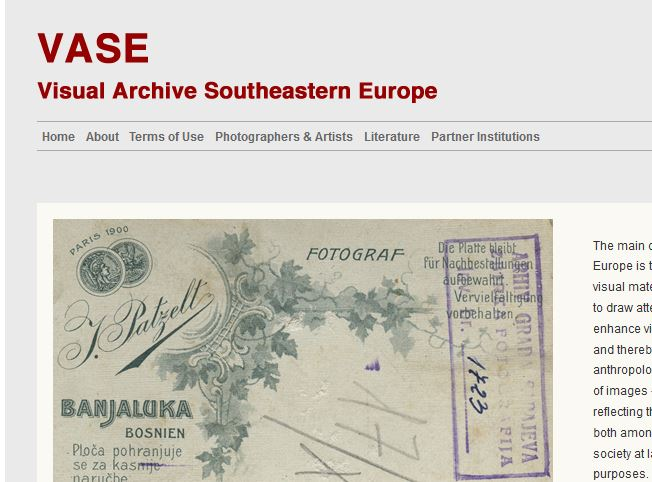 Visual Archive Southeastern Europe