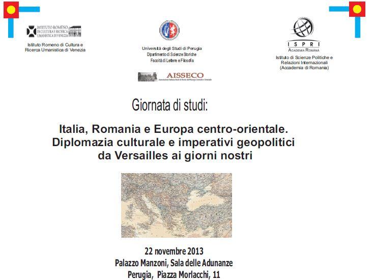 Italia, Romania e Europa centro-orientale.
