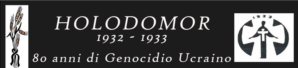 Holodomor 1932-1933