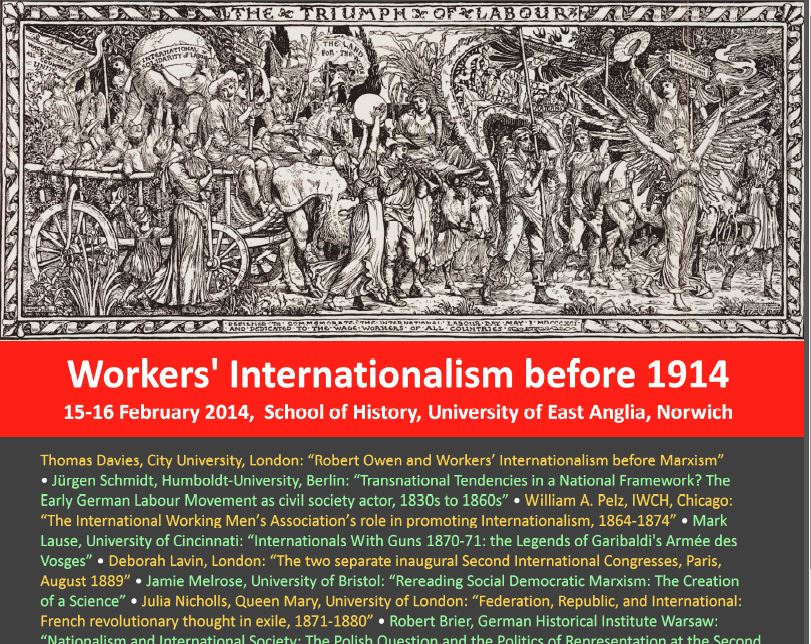 Workers' Internationalism before 1914