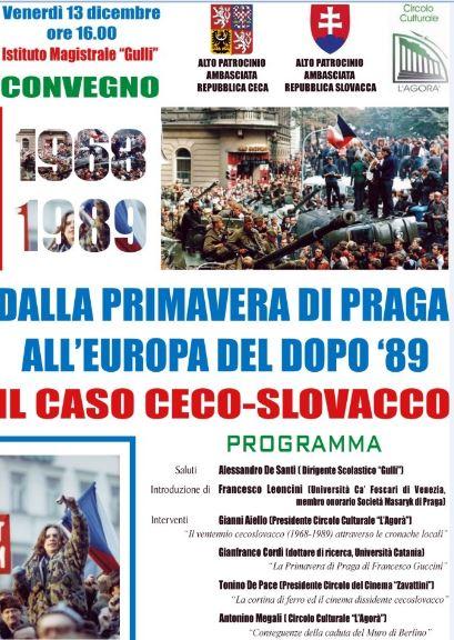 Dalla Primavera di Praga all´Europa del dopo ´89: il caso ceco-slovacco