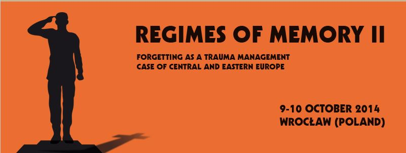 CfP: Forgetting as a Trauma Management