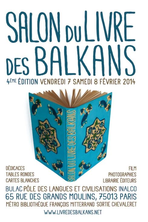 4ème édition du salon du Livre des Balkans