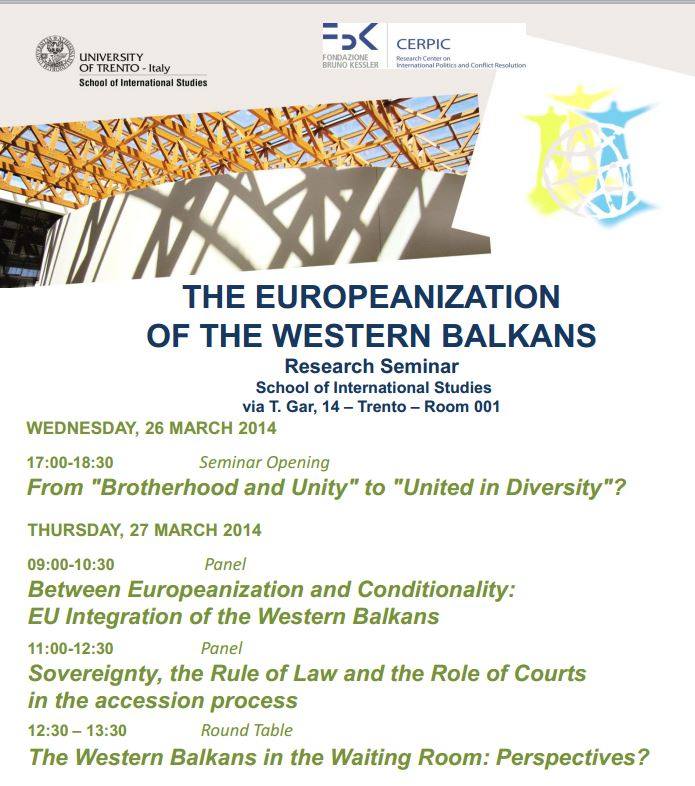 The Europeanization of the Western Balkans