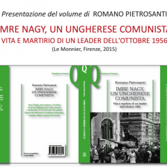 IMRE NAGY, UN UNGHERESE COMUNISTA