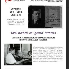"""Karel Weirich: un """"giusto"""" ritrovato"""