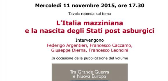 L'Italia mazziniana   e la nascita degli Stati post asburgici