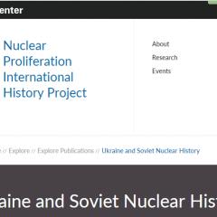 Ukraine and Soviet Nuclear History