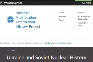 Ukraine and Soviet Nuclear History