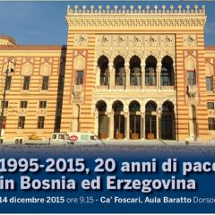 1995-2015, 20 anni di pace fredda in Bosnia ed Erzegovina