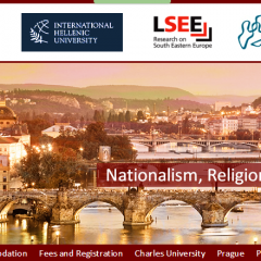 CfA SUMMER SEMINAR ON NATIONALISM, RELIGION AND VIOLENCE IN EUROPE