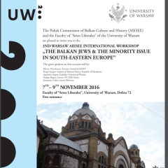 """The Balkan Jews & the Minority Issue in South-Eastern Europe"""