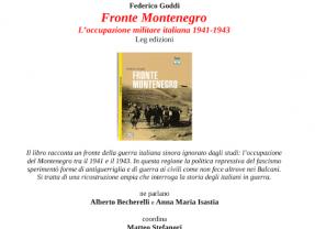 presentazione libro: Fronte Montenegro