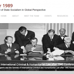 State Socialism, Legal Experts and the Genesis of International Criminal and Humanitarian Law after 1945