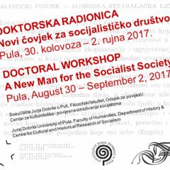 CfP: A New Man for the Socialist Society