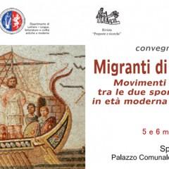 Convegno di studi Migranti di ieri e di oggi
