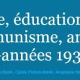 Image, éducation et communisme, 1920-1930