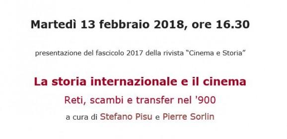 La storia internazionale e il cinema
