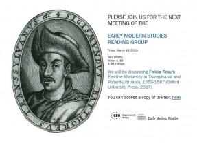 Discussione su libro al Dipartimento di Storia della Central European University
