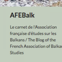 CfP: Villes des Balkans : Échelles locale, nationale, globale
