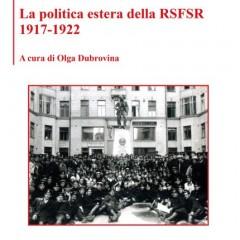 La politica estera della RSFSR 1917-1922