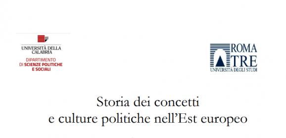 Storia dei concetti e culture politiche nell'Est europeo